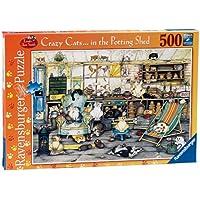 Ravensburger 14135 - Crazy Cats Puzzle, 500 Pezzi