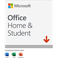 Microsoft Office 2019 Home & Student multilingual | 1 PC (Windows 10) / Mac | Dauerlizenz | Download Code