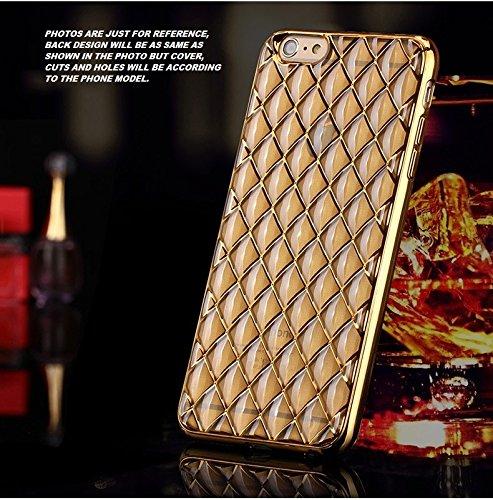 Delkart Hi Fi Zig Zag Back Cover For Samsung Galaxy J5 (Golden)