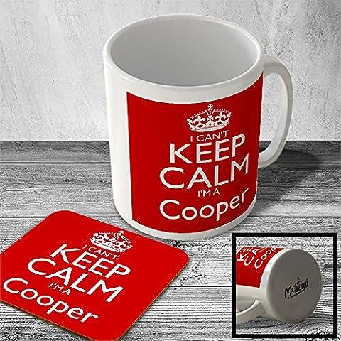 MAC_CKCSNAME_023 I Can't Keep Calm, I'm a Cooper - Mug