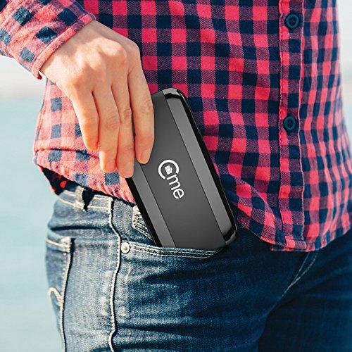 C-me 20050 - Die fliegende Selfie-Kamera für Full HD-Videos und 8-MP-Fotos, fliegende Selfie-Cam mit GPS-Unterstützung, zusammenfaltbar, einfach per Smartphone fliegen, filmen und sofort teilen, schwarz - 4