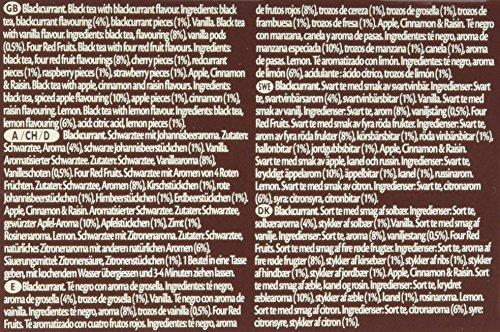 Twinings Selection aromatisierter Schwarztee mit Frucht, 2er Pack (2 x 40 g)