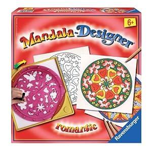 Ravensburger 29906 Mandala-Designer Romantic - Juego para Hacer Dibujos de Mandala