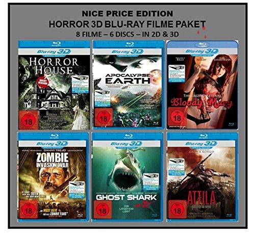 Nice Price Edition: Horror 3D Blu-ray Filme Paket (8 Filme in 2D + 3D)