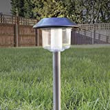 Benross 17870 Solar Marker Lights, Silber