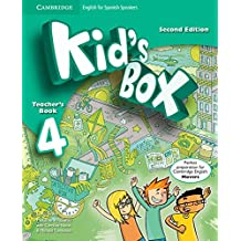 Kid's Box for Spanish Speakers Level 4 Teacher's Book Second Edition - 9788490367537