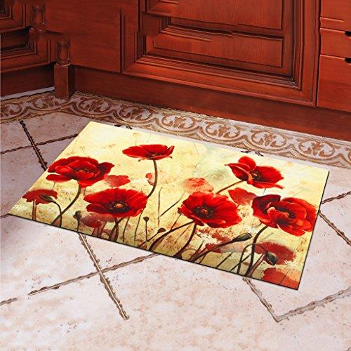 Teppiche Gummi-Pad Outdoor-Anti-Rutsch-Tür zum Kratzen der Tür-Pad-Druckmatte ( Farbe : 1 ) (Tür Kratzen Pad)