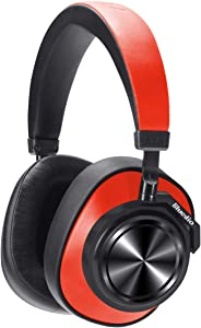 ?2019 New Upgraded? Bluedio T7 Bluetooth Headphones Custom Active Noise Canceling Over Ear, 57mm Driver Hi-Fi Stereo & 30Hrs