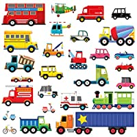 Decowall 27 Transports Kids Wall Stickers Wall Decals (1205/1605 / 8004/1704)