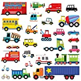 Decowall DW-1605 27 Transporte Wandsticker