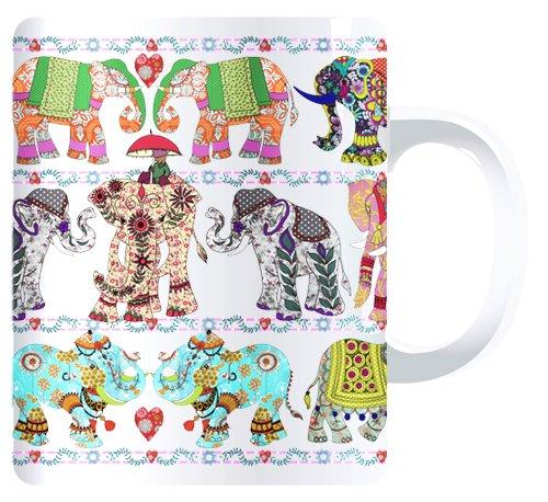Elefantes MollyMac taza