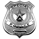 German Trendseller® - Dienstmarke - Polizei ┃ Polizeimarke ┃ Fasching ┃ Karneval ┃ Special Police Cop