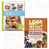 lose weight for good low fodmap diet for beginners and 200 really easy recipes 2 books collection set - hamlyn all colour cookbook,complete plan for managing symptoms of ibs, crohn's disease, coeliac