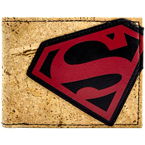 DC Comics Superman Cork style marron Portefeuille