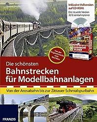 Die schönsten Bahnstrecken für Modellbahnanlagen: Von der Arosabahn bis zur Zittauer Schmalspurbahn