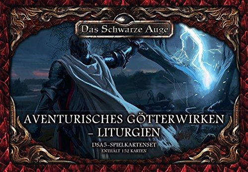 dsa5 spielkartenset DSA5 Spielkartenset Avenurisches Götterwirken – Liturgien (Das Schwarze Auge - Zubehör)
