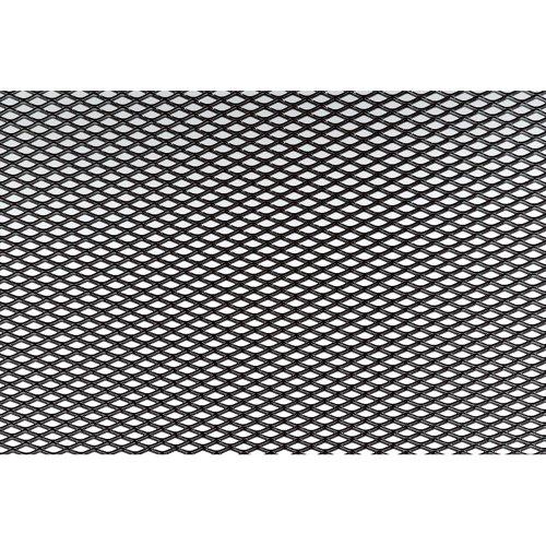 Simoni Racing GSA/7N Extra Schmale Mesh Aluminium Größe 125 X 20 Cm, Schwarz
