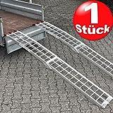 Torrex 30100 - Rampa plegable de aluminio para vehículos (hasta 340kg)