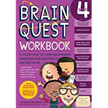 "Brain Quest Workbook: Grade 4 [With Over 150 Stickers and Mini-Card Deck and Fold-Out ""7 Continents, 1 World"" Poster]"