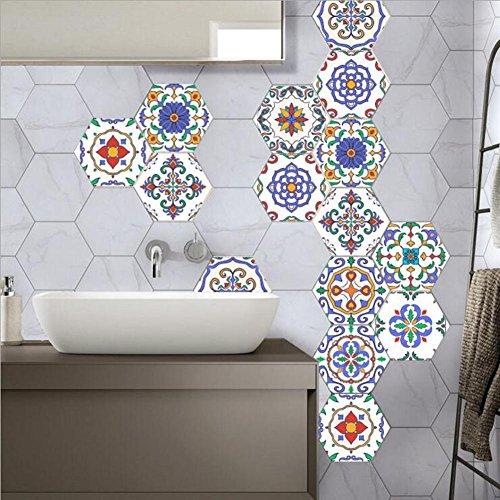 JY ART Y Wand Aufkleber Küche Deko Badezimmer Gestaltung   Küchen Fliesen  überkleben   Dekorative Bad Gestaltung   Fliesen Aufkleber   Marokkanischer  Stil  ...
