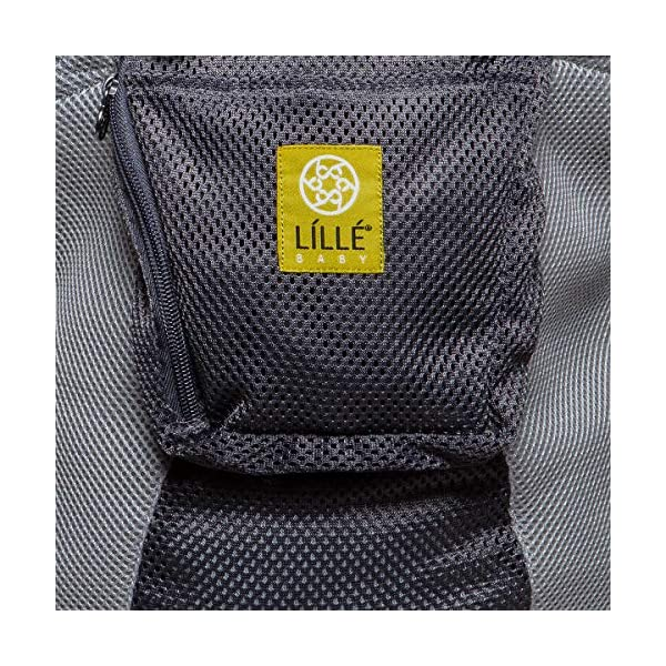 LÍLLÉbaby  Complete Airflow 6-in-1 Baby Carrier, Grey/Silver Lillebaby Made from breathable mesh fabric to help keep parent and child cool and comfortable and with 6 carrying positions - Foetal, infant inward, outward, toddler inward, hip, back - The only carrier you'll ever need! Suitable from 3.2- 20kg (birth to approx. 4 years old), providing extended comfortable use for parent and child with no additional infant support required for new-borns - the ergonomic adjustable seat is acknowledged as 'hip-healthy' by the International Hip Dysplasia Institute Unique spacious head support with elasticated straps - soothes infants with gentle lulling motion and provides excellent support as children grow 9