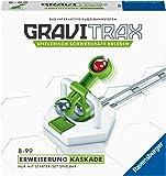 Ravensburger GraviTrax Erweiterung Kaskade - Ideales Zubehör für spektakuläre Kugelbahnen, Konstruktionsspielzeug für…