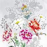 Tovaglioli di carta monouso, Sagoma del fiore, 20 pezzi 3 strati - 33 x 33