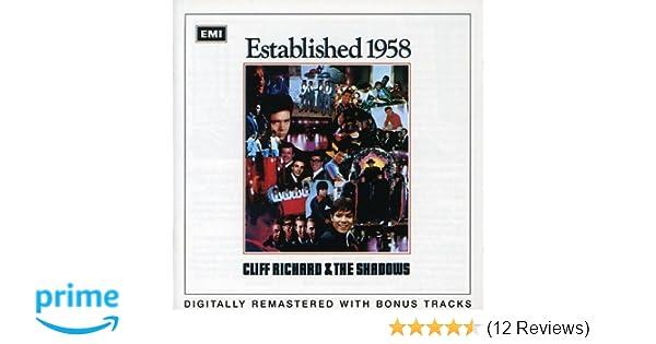 established 1958 cliff richard shadows