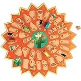 SCRATCH 276182202 Goose, spel voor kinderen, kinderspel, ganzenspel