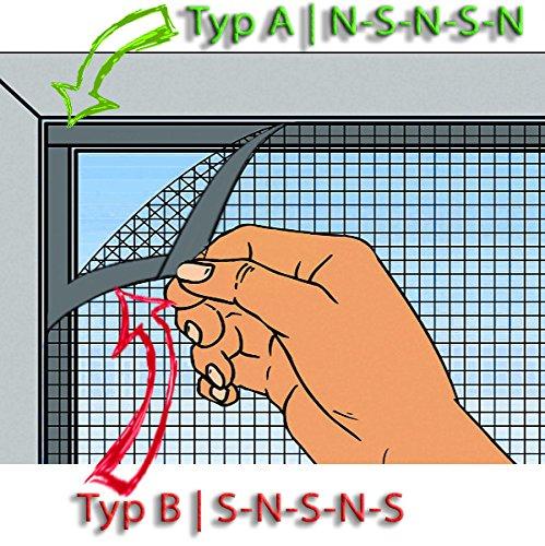 Typ A B Magnetband Magnetstreifen selbstklebend 1,5mm x 25,4mm x 10m