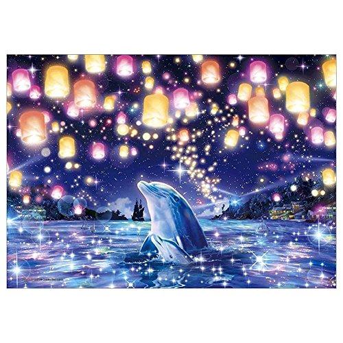 txhf 5D Diamond Malen DIY Light Dolphin Muster Stickerei Kreuzstich Craft 25x 30cm