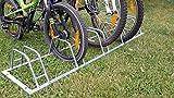 Naturholz-Shop Fahrradständer für 5 Fahrräder Räder Fahrrad Ständer Rad Aufstellständer