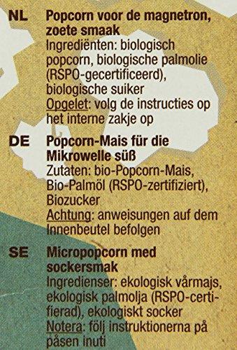 Yum Kah Popcorn für die Mikrowelle süß, glutenfrei - 3