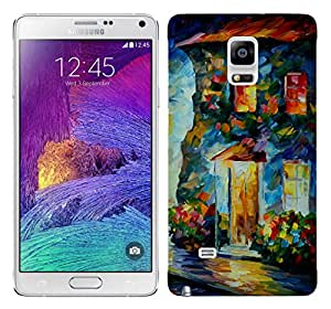 WOW 3D Printed Designer Mobile Case Back Cover For Samsung Galaxy Note 4