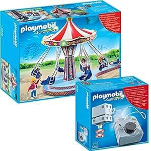 playmobil summer fun freizeitpark 2 teiliges set 5548. Black Bedroom Furniture Sets. Home Design Ideas