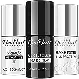 NEONAIL Set Hard Top 7,2 ml + Base Silk Protein 7,2 ml + Primer Vitamins säurefreies Präparat 7,2 ml
