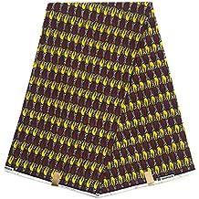 HITARGET WAX Pagne Tissu Africain collection ORIGINAL 6 YARDS Super cire imprimé top qualité 100% pur COTON réf QR