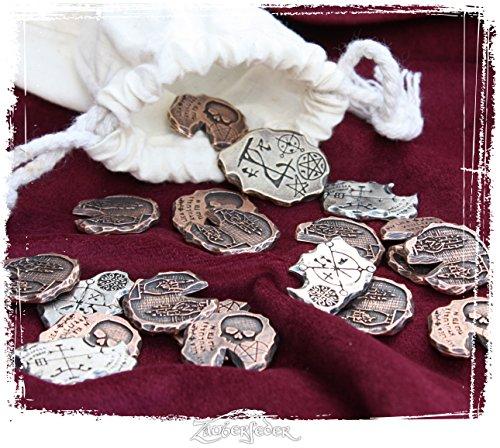 Larp-Münzset Nekromant (1 4 Silber Münze)