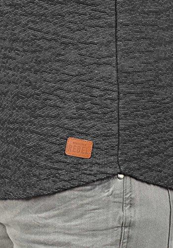 REDEFINED REBEL Mack Herren Sweatshirt Pullover Sweater mit Rundhals-Ausschnitt aus hochwertiger Baumwollmischung Forged Iron