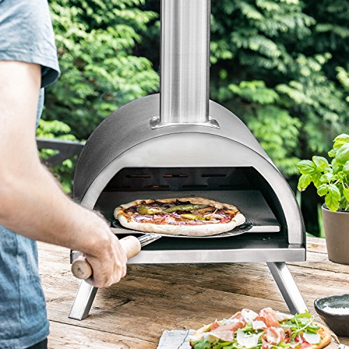 Holzpellets 10 kg für Pizzaofen Nero aus Eichenholz, Heizpellets, Grillpellets (auch als Einstreupellets für Tiere geeignet)
