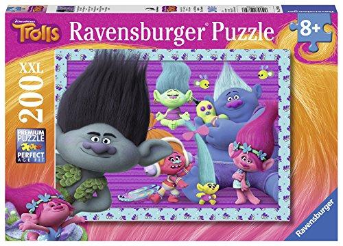 TROLLS Puzzle XXL de 200 piezas