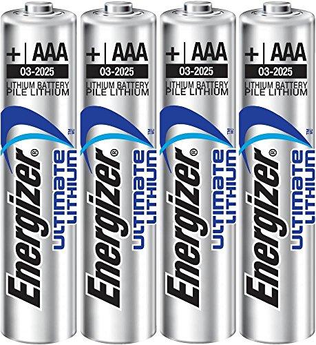 Galleria fotografica Batteria Lithium Micro AAA Energizer L92 – Set da 4 blister LR 03 E 4-BL Energizer Lithium L92