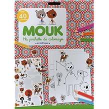 Mouk en Afrique - Ma pochette de coloriages