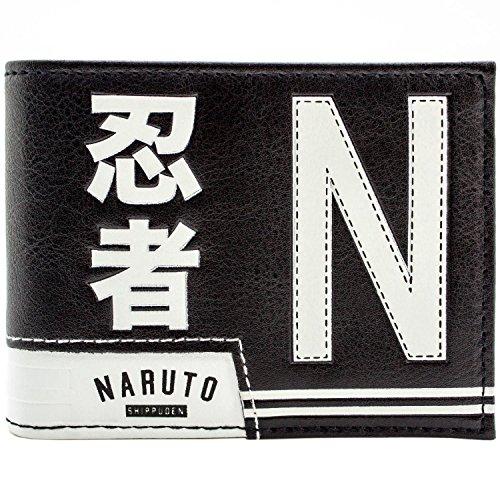 Naruto Shippuden Ultimate Ninja Academy Schwarz Portemonnaie ()