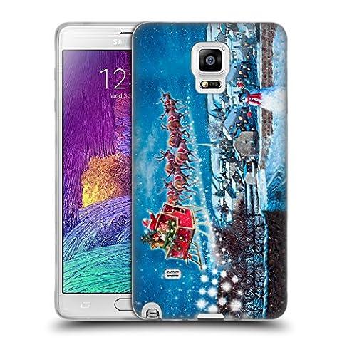 Officiel The Macneil Studio Grelots Père Noël Étui Coque en Gel molle pour Samsung Galaxy Note 4