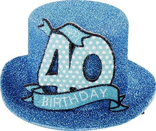 1STK. Sombrero fiesta cumpleaños 40años Fiesta