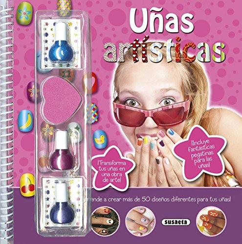 Uñas artísticas (Diseña y crea) por Susaeta Ediciones S A