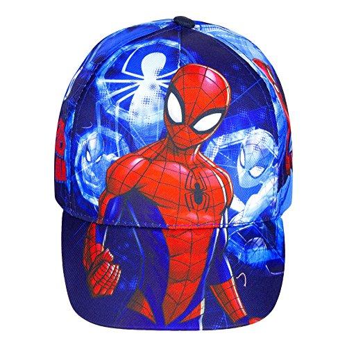 Marvel Spiderman Baseball Cap für Kinder, dunkelblau, Art. 0693, Gr. 54
