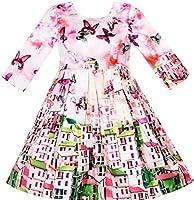 Design elegante ragazze abito da principessa. materiale di alta qualità  raso 697ce6385f9