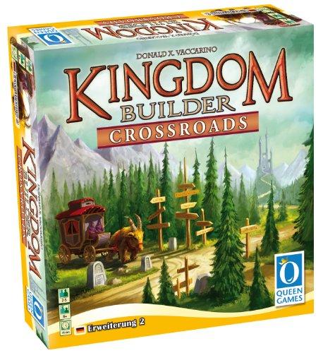 Preisvergleich Produktbild Queen Games 6108 - Kingdom Builder Erweiterung 2: Crossroads